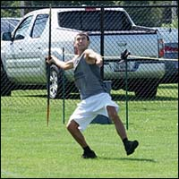 javelin competition
