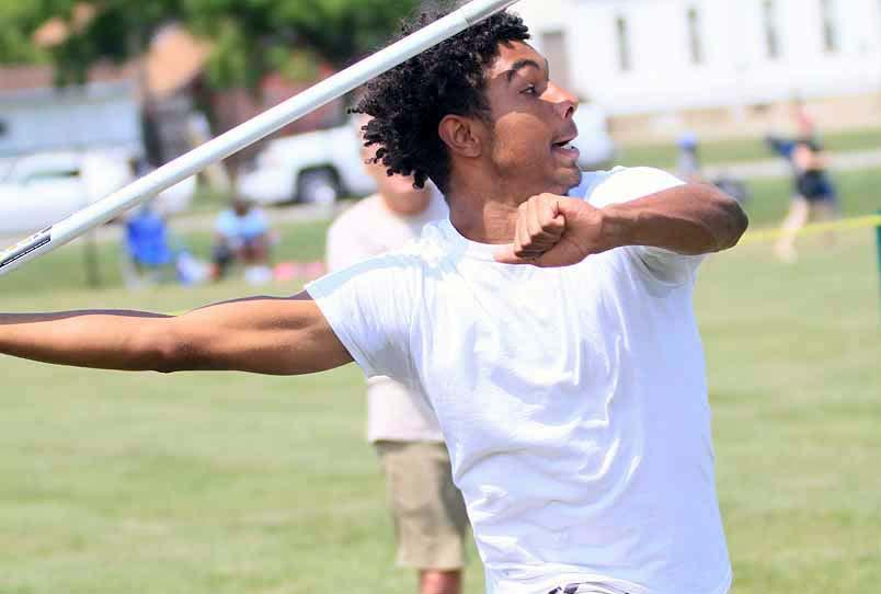 Javelin Thrower at Hammerman Field