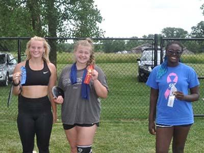 6.12 women's discus winners